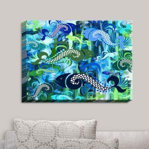 Decorative Canvas Wall Art | Angelina Vick - Plenty of Fish in the Sea I