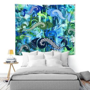 Artistic Wall Tapestry | Angelina Vick Plenty of Fish in the Sea I