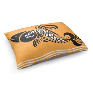 Decorative Dog Pet Beds | Angelina Vick - Plenty of Fish in the Sea 5 | Ocean water nature graphic