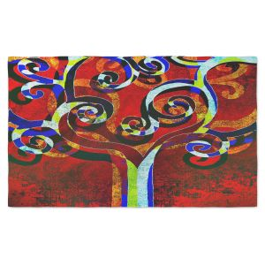 Artistic Pashmina Scarf | Angelina Vick - Primary | Tree Abstract