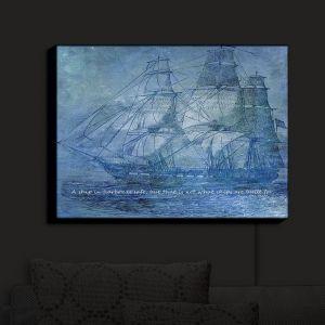 Nightlight Sconce Canvas Light | Angelina Vick - Sailboat Quote 2