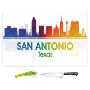 Artistic Kitchen Bar Cutting Boards | Angelina Vick - City I San Antonio Texas