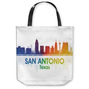 Unique Shoulder Bag Tote Bags   Angelina Vick - City I San Antonio Texas