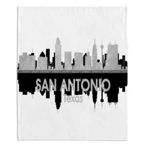 Decorative Fleece Throw Blankets | Angelina Vick - City IV San Antonio Texas