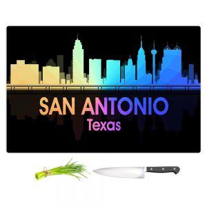 Artistic Kitchen Bar Cutting Boards | Angelina Vick - City V San Antonio Texas
