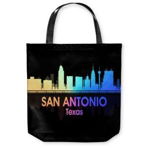 Unique Shoulder Bag Tote Bags   Angelina Vick - City V San Antonio Texas