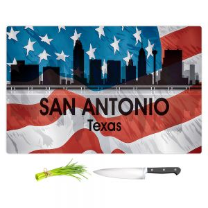 Artistic Kitchen Bar Cutting Boards | Angelina Vick - City VI San Antonio Texas