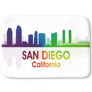 Decorative Bathroom Mats | Angelina Vick - City I San Diego California
