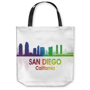 Unique Shoulder Bag Tote Bags | Angelina Vick - City I San Diego California