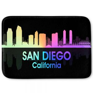 Decorative Bathroom Mats | Angelina Vick - City V San Diego California