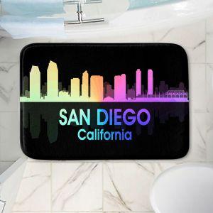 Decorative Bathroom Mats   Angelina Vick - City V San Diego California