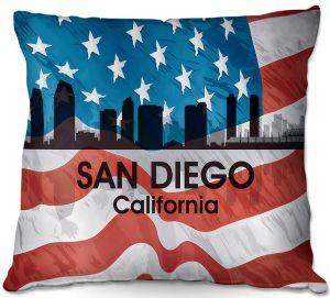 Throw Pillows Decorative Artistic   Angelina Vick - City VI San Diego California