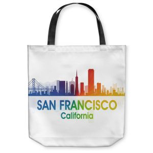 Unique Shoulder Bag Tote Bags | Angelina Vick - City I San Francisco California
