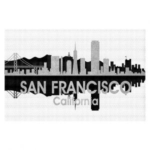 Decorative Floor Coverings | Angelina Vick - City IV San Francisco California