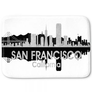 Decorative Bathroom Mats | Angelina Vick - City IV San Francisco California