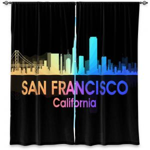 Decorative Window Treatments | Angelina Vick - City V San Francisco California