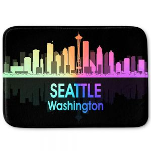 Decorative Bathroom Mats | Angelina Vick - City V Seattle Washington