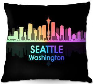 Decorative Outdoor Patio Pillow Cushion | Angelina Vick - City V Seattle Washington