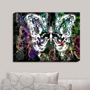 Decorative Canvas Wall Art | Angelina Vick - Seven Butterflies