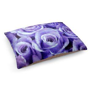 Decorative Dog Pet Beds | Angelina Vick - Soft Lavender Roses | flower still life close up