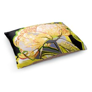 Decorative Dog Pet Beds | Angelina Vick - Today Flower Yellow | flower up close digital