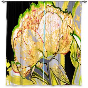Decorative Window Treatments | Angelina Vick - Today Flower Yellow | flower up close digital