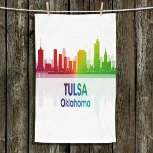 Unique Bathroom Towels | Angelina Vick - City I Tulsa Oklahoma