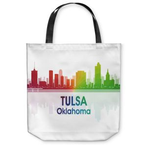 Unique Shoulder Bag Tote Bags | Angelina Vick - City I Tulsa Oklahoma