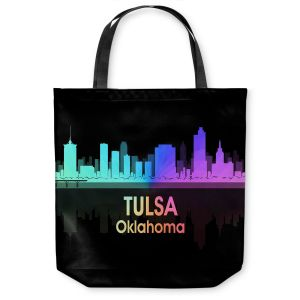 Unique Shoulder Bag Tote Bags | Angelina Vick - City V Tulsa Oklahoma
