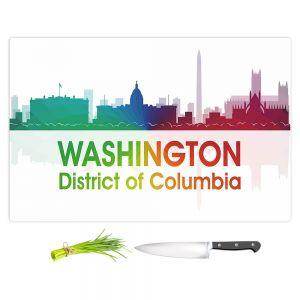 Artistic Kitchen Bar Cutting Boards | Angelina Vick - City I Washington DC