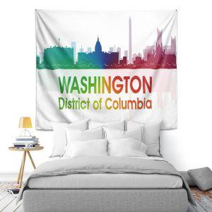 Artistic Wall Tapestry | Angelina Vick - City I Washington DC