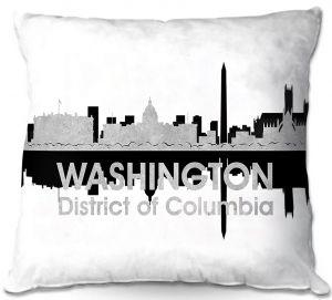 Throw Pillows Decorative Artistic   Angelina Vick - City IV Washington DC