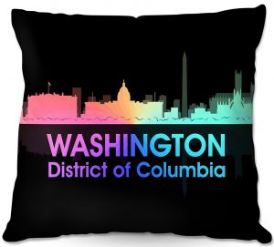 Decorative Outdoor Patio Pillow Cushion | Angelina Vick - City V Washington DC