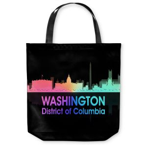 Unique Shoulder Bag Tote Bags | Angelina Vick - City V Washington DC