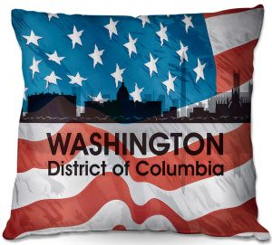 Throw Pillows Decorative Artistic | Angelina Vick - City VI Washington DC