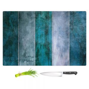 Artistic Kitchen Bar Cutting Boards | Angelina Vick - Water | Abstract shapes rectangle