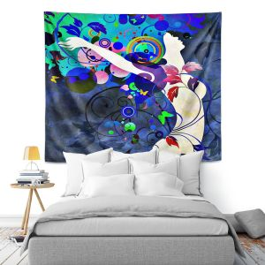 Artistic Wall Tapestry   Angelina Vick Wondrous Night