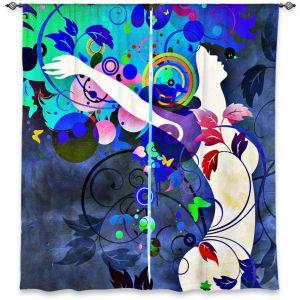 Decorative Window Treatments | Angelina Vick Wondrous Night