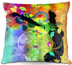 Unique Outdoor Pillow 16X16 from DiaNoche Designs by Angelina Vick - Wondrous 2