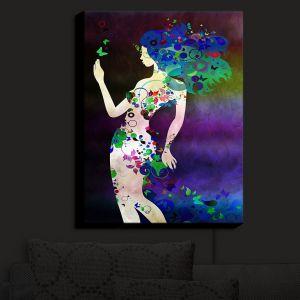 Nightlight Sconce Canvas Light | Angelina Vick - Wondrous Night 4