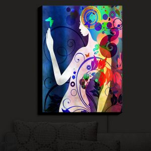 Nightlight Sconce Canvas Light | Angelina Vick - Wondrous Night 5