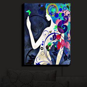 Nightlight Sconce Canvas Light | Angelina Vick - Wondrous Night 6