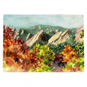 Countertop Place Mats | Anne Gifford's Fall Flatirons