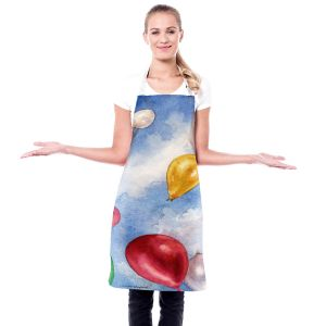 Artistic Bakers Aprons | Anne Gifford - Balloons In Flight | Balloons Fun Sky