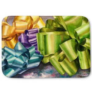Decorative Bathroom Mats | Anne Gifford - Bows 1 | Christmas, Birthday, Present