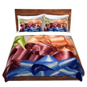Artistic Duvet Covers and Shams Bedding | Anne Gifford - Bows 2 | Christmas, Birthday, Present