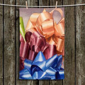 Unique Bathroom Towels | Anne Gifford - Bows 2 | Christmas, Birthday, Present