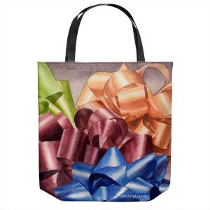 Unique Shoulder Bag Tote Bags | Anne Gifford - Bows 2 | Christmas, Birthday, Present