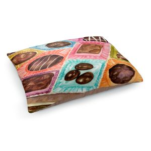 Decorative Dog Pet Beds | Anne Gifford - Box Chocolate | Still life sweets candy close up