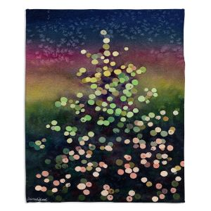 Decorative Fleece Throw Blankets | Anne Gifford - Christmas Tree